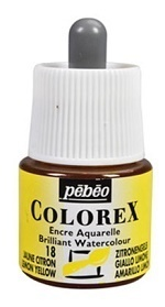 COLOREX Aquarelltinte von Pébéo Lemon Yellow