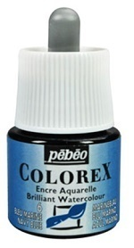 COLOREX Aquarelltinte von Pébéo Navy Blue