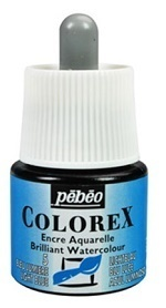 COLOREX Aquarelltinte von Pébéo Light Blue