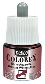 COLOREX Aquarelltinte von Pébéo Burgundy