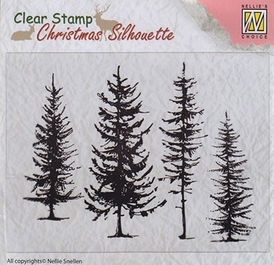 *Clear Stamps Tannenbäume
