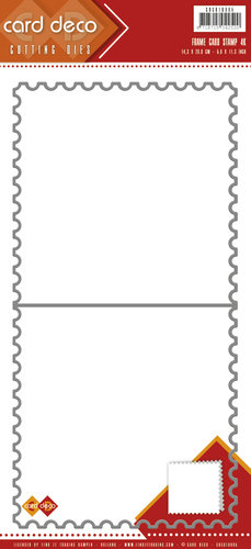 Stanzschablone Frame Card Stamp
