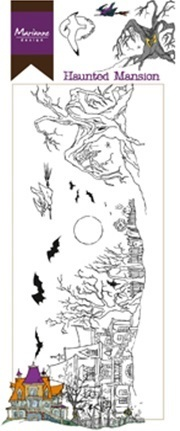 Marianne design Clear Stamp Halloween