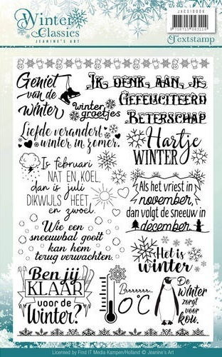 VB Clearstamp - Jeanines Art - Winter Classic