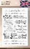 Clearstamp Butterflies and Flowers Englisch*