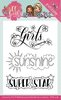 Clear Stamps Sweet Girls