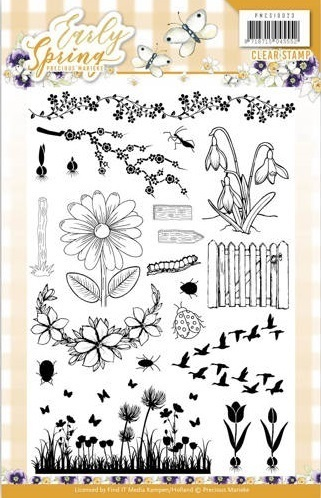 Precious Marieke Clear Stamps - Early Spring