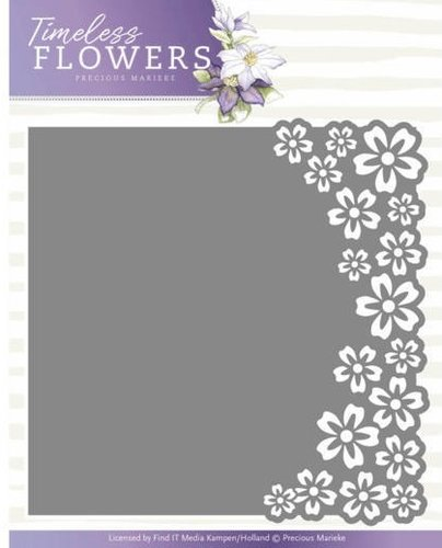 Stanzschablone Timeless Flowers BUTTERCUP FRAME