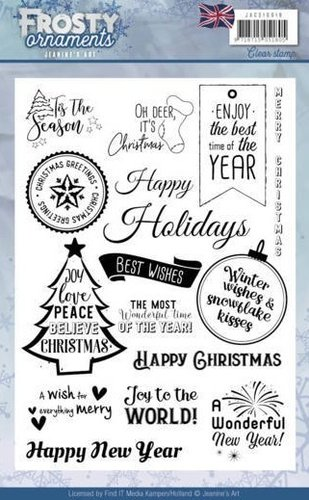 Clear Stamps FROSTY Arnaments - ENG