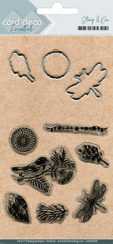 Stanzschablonen + Clear Stamps*