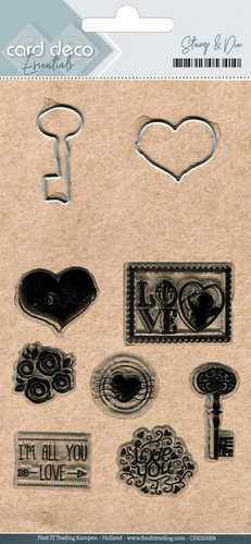 Stanzschablonen + Clear Stamps