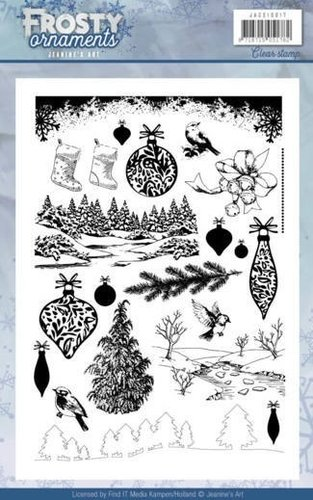 Clear Stamps FROSTY Arnaments