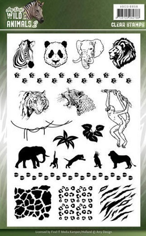 Clear Stamps Wild Animals