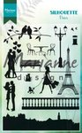 Clear Stamps Silhouette PARIS