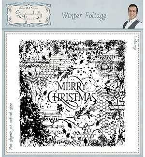 *Rubber Stamp Winter Foliage