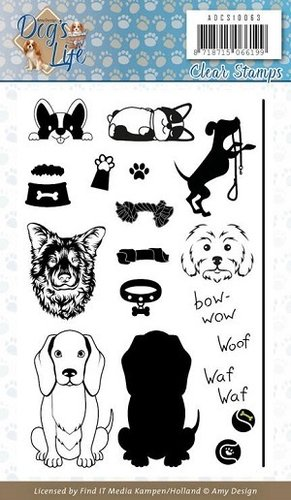 Clear Stamps Dogs Life