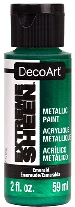 *Acrylfarbe METALLIC 59 ml Emerald