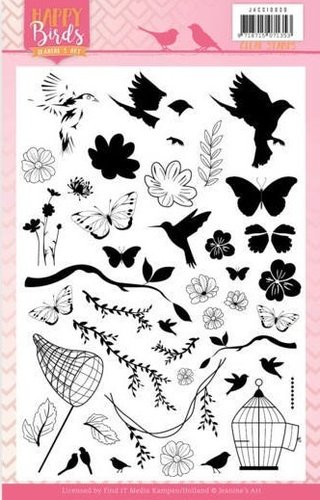 *Clear Stamps Happy Birds